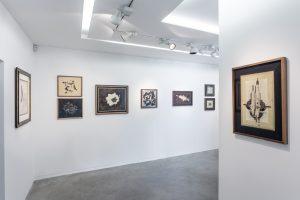 Vue de l'exposition à la galerie Eric Mouchet
