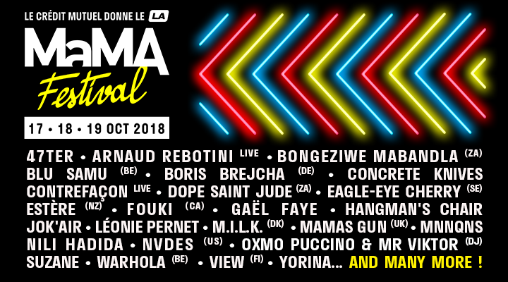 Playlist Partenaire – le MaMA festival version Hip Hop