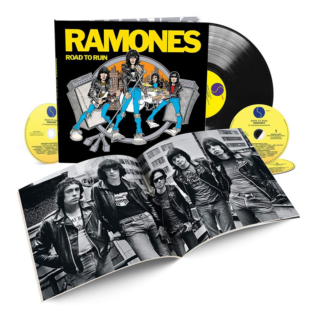 RAMONES « Road To Ruin  » 40th ANNIVERSARY DELUXE EDITION »