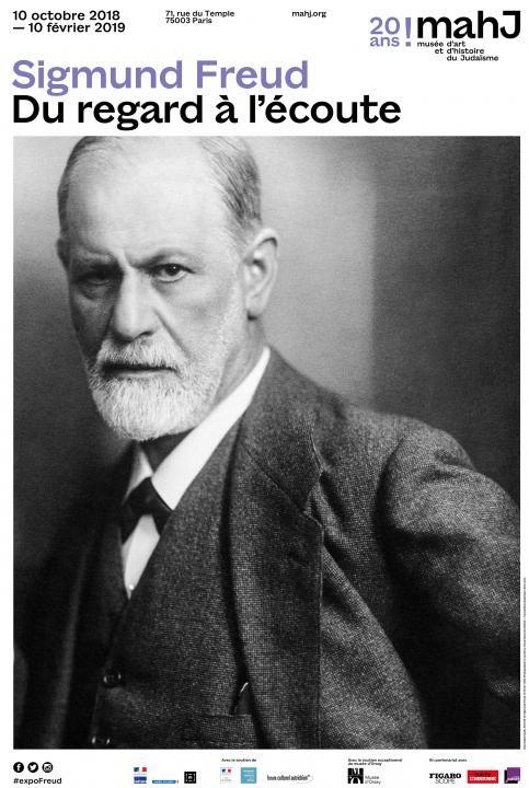 Exposition Sigmund Freud, du regard à l'écoute  au Mahj