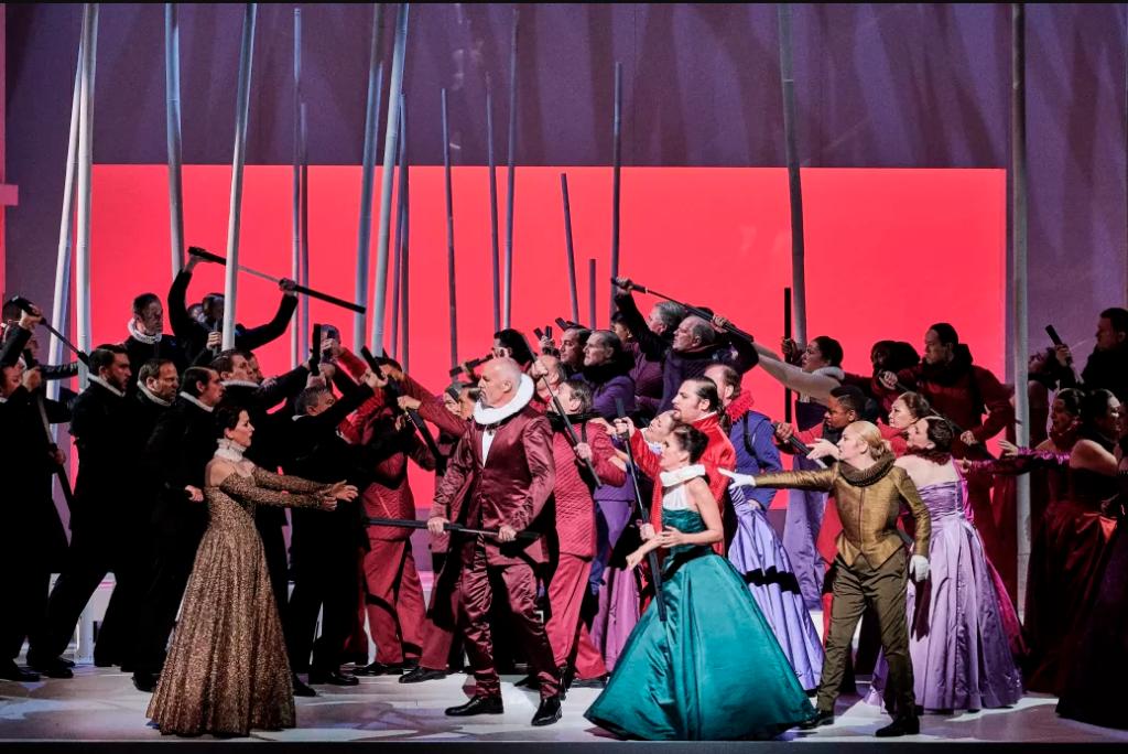 Des Huguenots chics et hauts perchés à l'Opéra de Paris