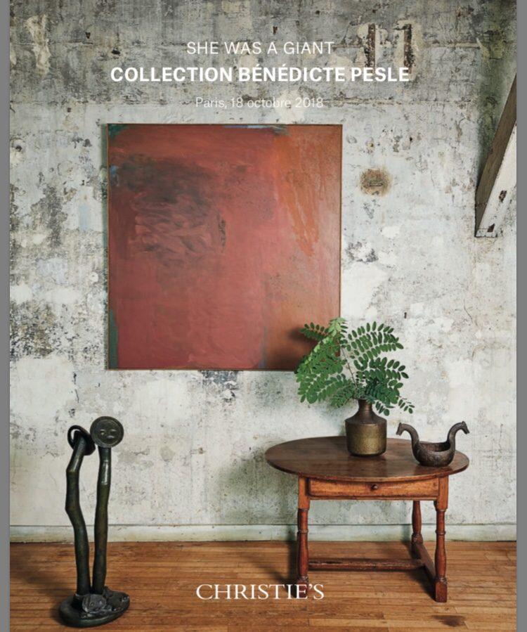 Bénédicte Pesle. Vente de sa collection d'art contemporain