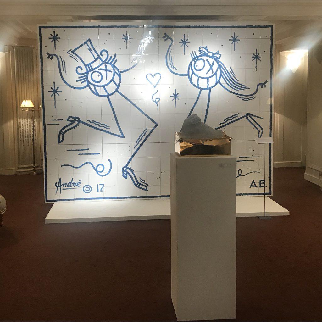 FIAC 2018: un off entre street-art et mobilier 18ème chez Kraemer (feat Magda Danysz)