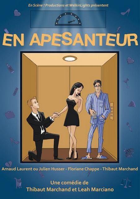 En Apesanteur : La nouvelle comédie de Thibaut Marchand et Leah Marciano au Théâtre du Marais
