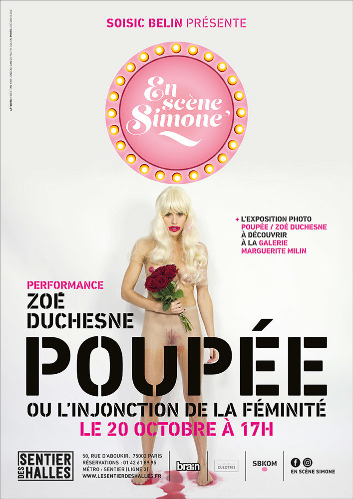La Poupée de Zoé Duchesne articule une heure de condition féminine au Sentier des Halles