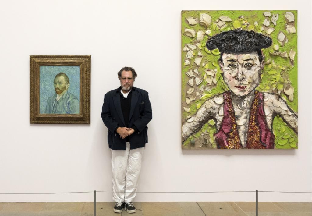Donatien Grau sur l'exposition Julian Schnabel à Orsay «A travers l'accrochage, nous avons voulu donner à ressentir la profondeur physique de la peinture»