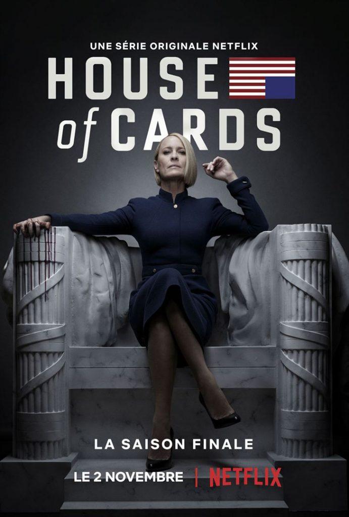 House of cards revient mais sans Franck Underwood