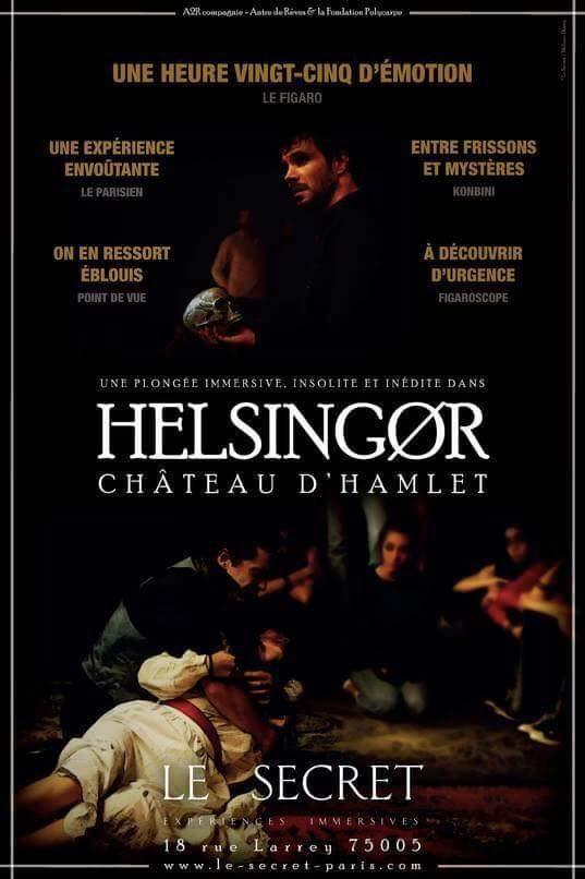 A découvrir impérativement: Helsingør – château d'Hamlet, théâtre immersif de Léonard Matton