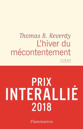 Thomas B. Reverdy remporte le prix Interallié