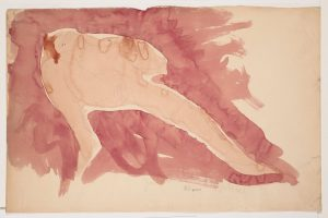 D. 06202 — Jardin des supplices, 1898-1902 ?, crayon graphite et aquarelle sur papier vélin © musée Rodin, ph. Jean de Calan