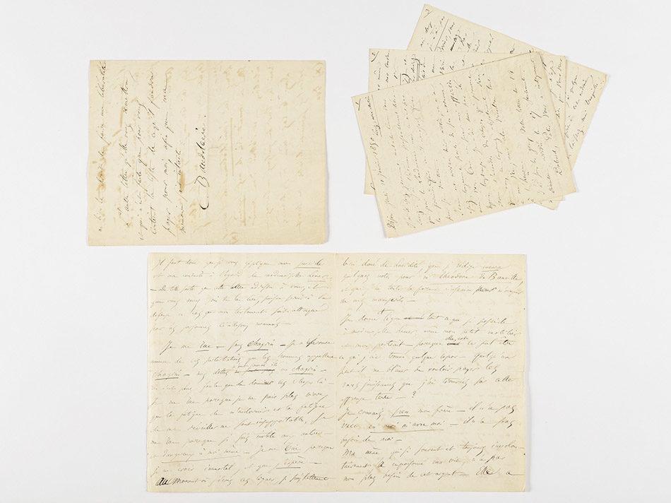 Une lettre de suicide signée Baudelaire adjugée 234 000 euros