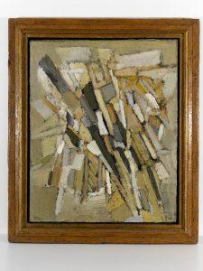 Nicolas de Staël? Eau de vie,1948? Huile sur toile? 100 x 81 cm?Courtesy Jeanne Bucher Jaeger, Paris? © G. Poncet