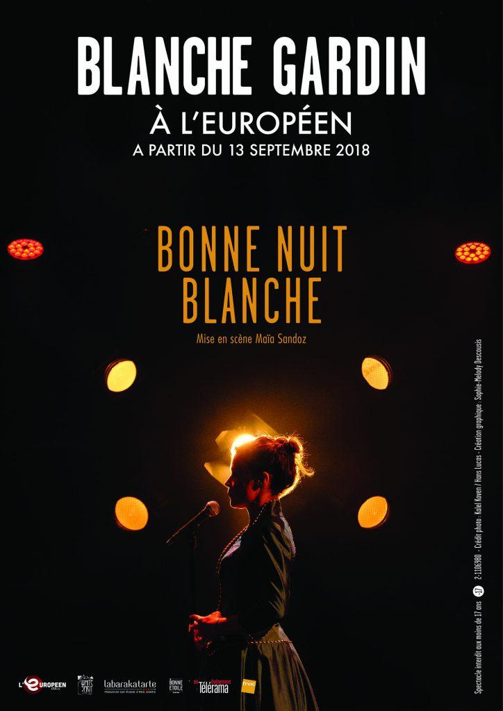 L'inclassable Blanche Gardin enchante l'Européen !