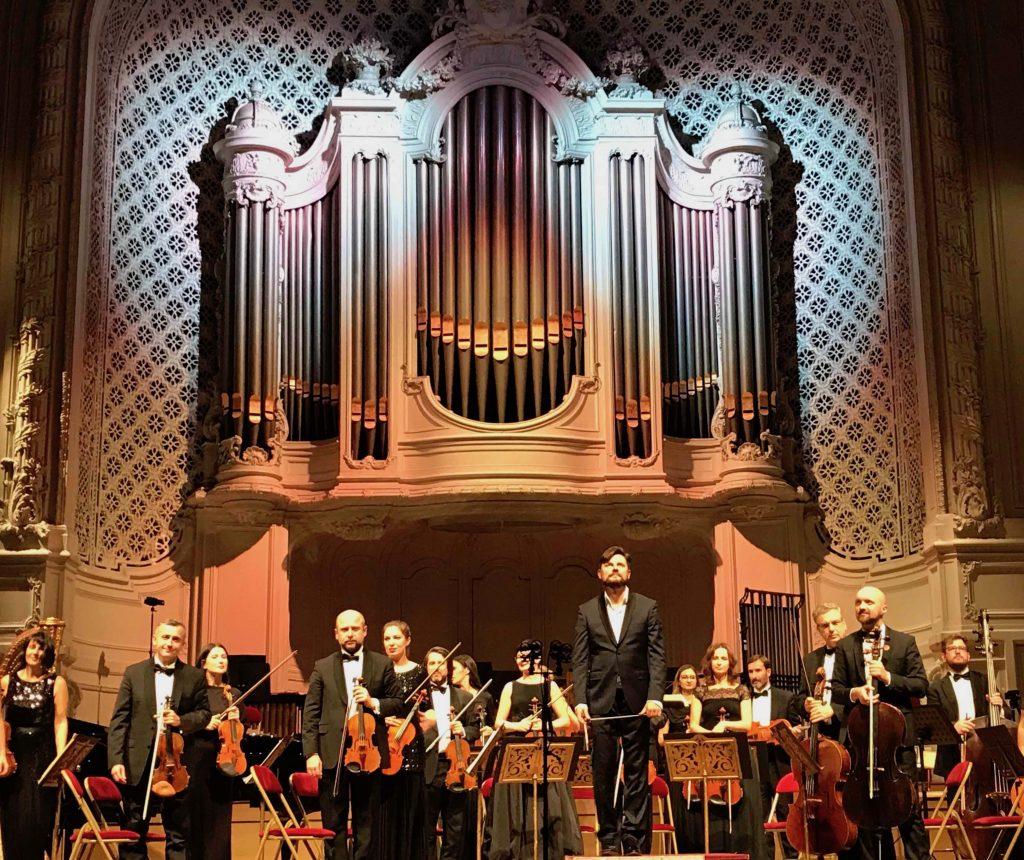 Concert pour le centenaire du recouvrement de l'Indépendance de la Pologne avec Sinfonietta Cracovia