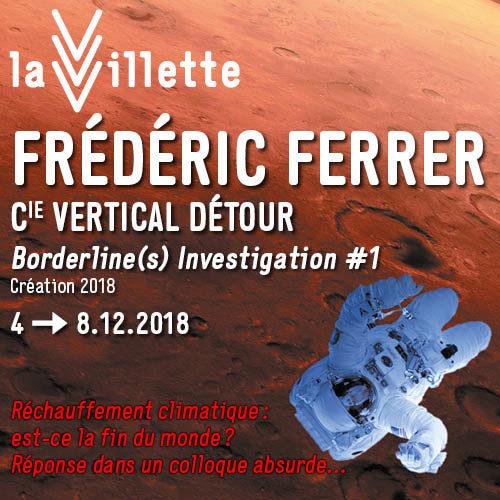 Frédéric Ferrer  nous parle de Borderline(s) investigation #1 – les limites
