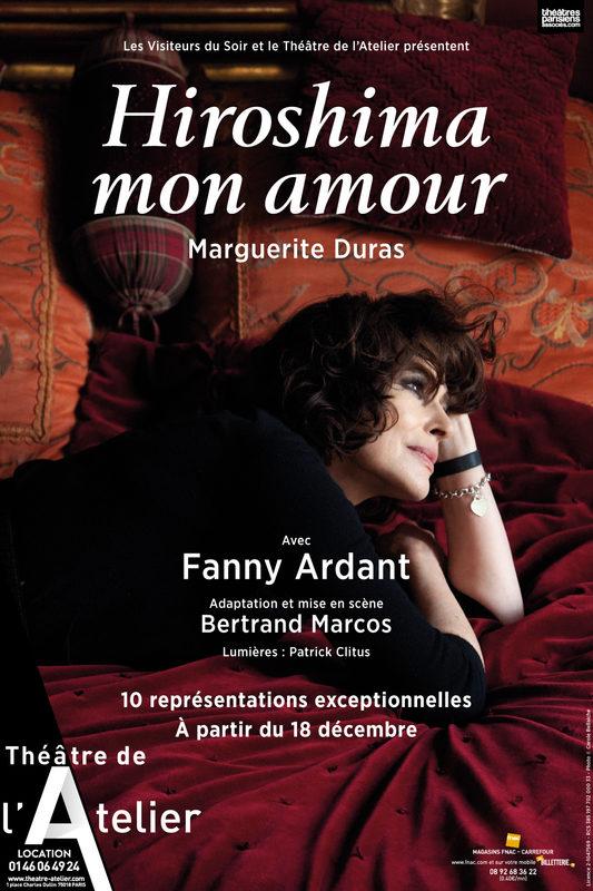 Fanny Ardant incarne «Hiroshima mon amour» au Théâtre de l'Atelier