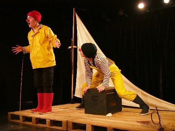 Odysseus, Ulysse revient.. en clown à l'Essaion