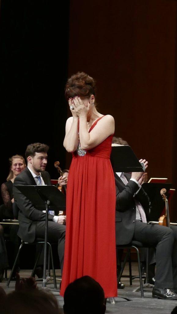 Maria Stuarda au théâtre des Champs-Élysées : la reine Patrizia