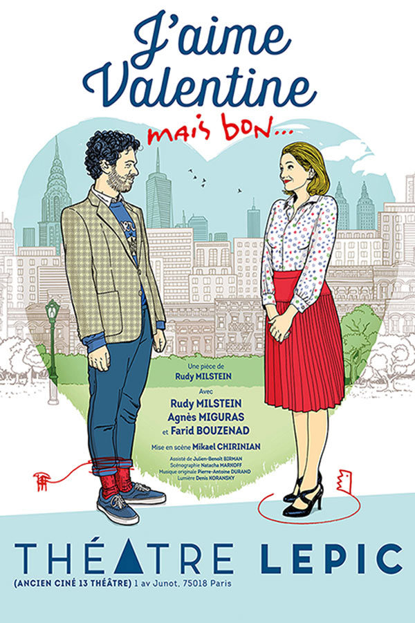 J'aime Valentine mais bon… de Rudy Milstein