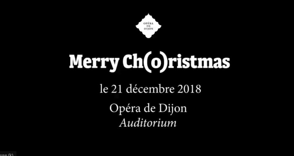 Merry Ch(o)ristmas, un noël anglais à l'Opéra de Dijon