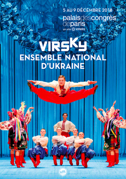 Ensemble national d'Ukraine Virsky à Paris !