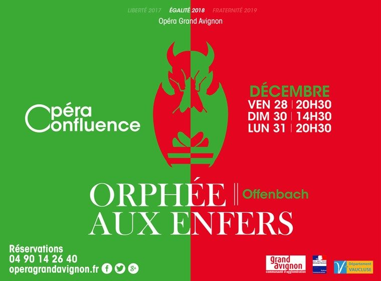 Gagnez 2 x 2 places pour ORPHEE AUX ENFERS – l'Opéra Grand Avignon