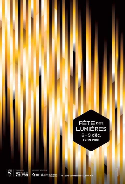 Déambulation nocturne à Lyon pour la Fête des lumières