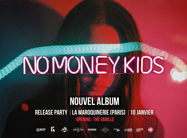 Gagnez 2×2 places pour le concert de No Money Kids