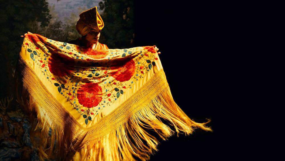 Festival Danse Solo : flamboyant Orlando par François Chaignaud