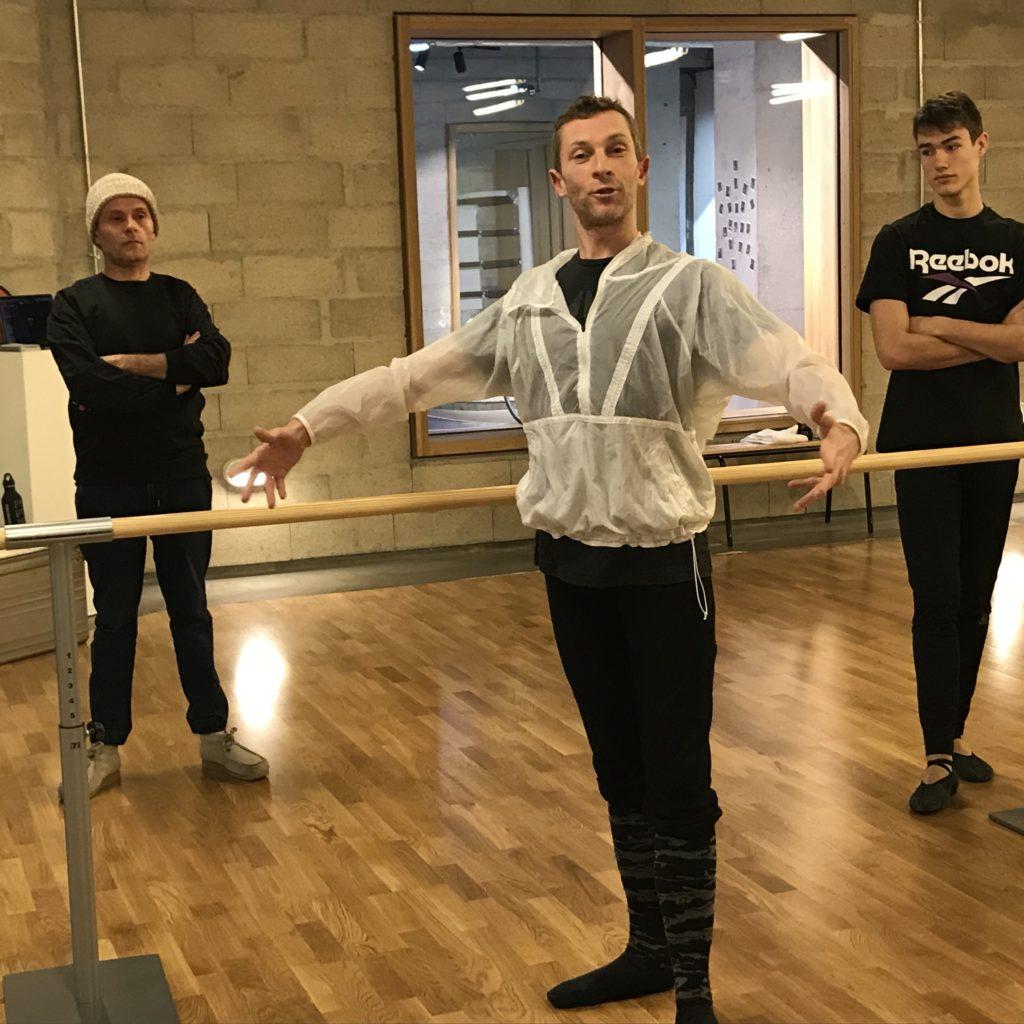 Initiation au Barre & Beats avec le danseur et chorégraphe Grégory Gaillard à La Salle de Sport Paris