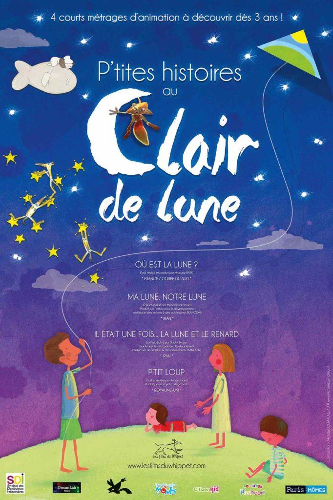 Quatre «P'tites histoires au Clair de lune» pour rêver