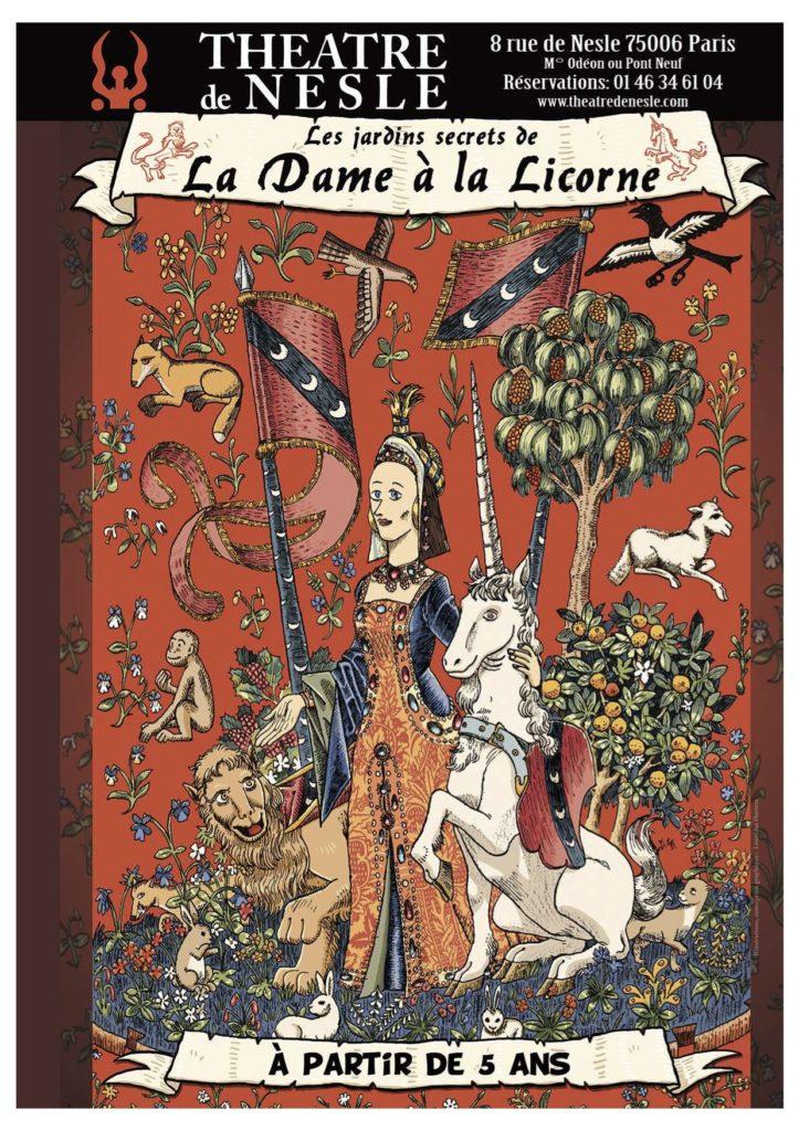 «Les jardins secrets de la Dame à la licorne», une immersion sensorielle dans la tapisserie emblématique du musée de Cluny