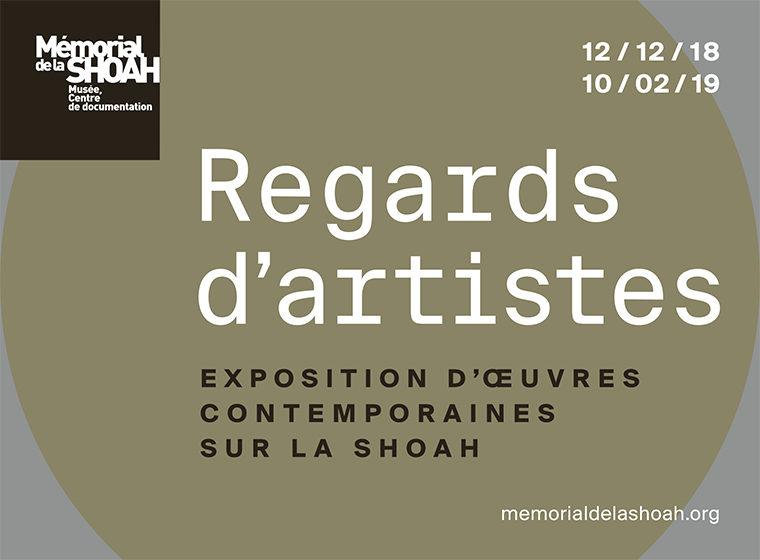 Gagnez 15×2 places pour une visite guidée de l'exposition Regards d'artistes le 31 janvier