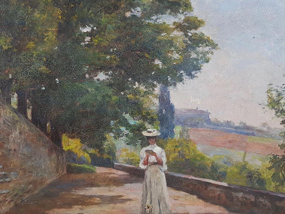 20 tableaux du peintre impressionniste Ernest Roman mis aux enchères à Nîmes