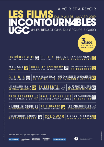 Gagnez 10 laissez-passer UGC