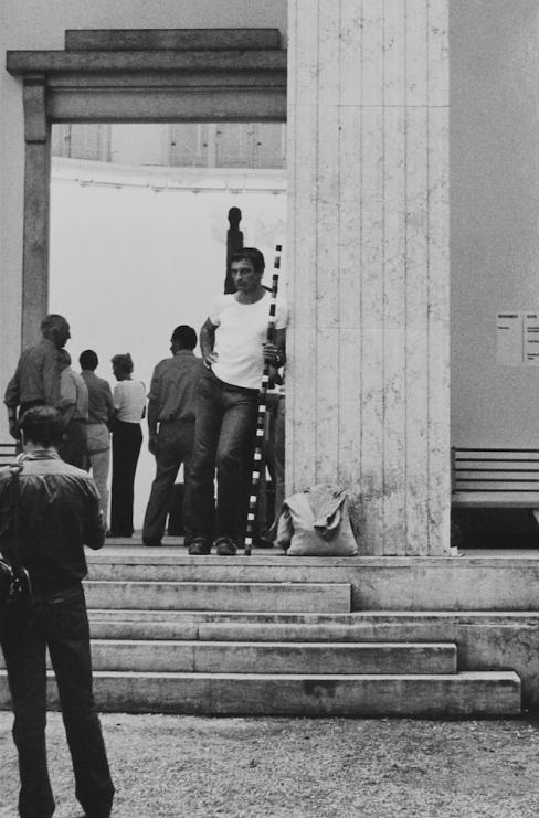 Andre Cadere, Pièces textuelles, photographies, ephemera : exposition hommage : documents et œuvre in situ à la Galerie Hervé Bize, [Nancy]