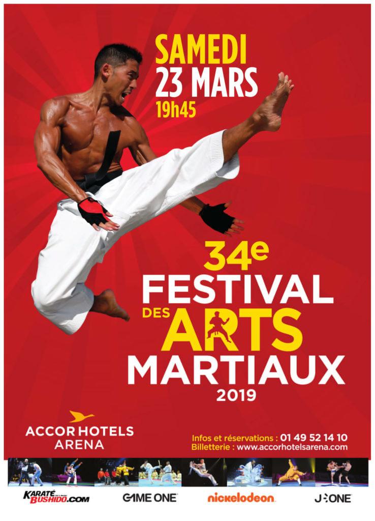 Gagnez 5X2 places pour le Festival des Arts Martiaux