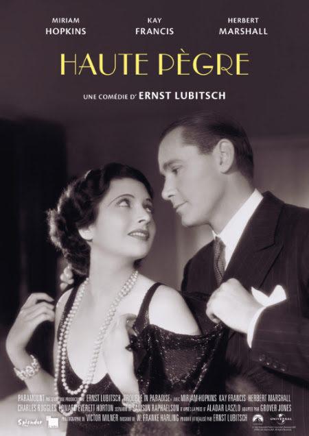 «Haute Pègre» : le charme discret de l'escroquerie par Ernst Lubitsch
