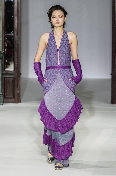 Défilé – Maria Aristidou – Couture printemps-été 2019