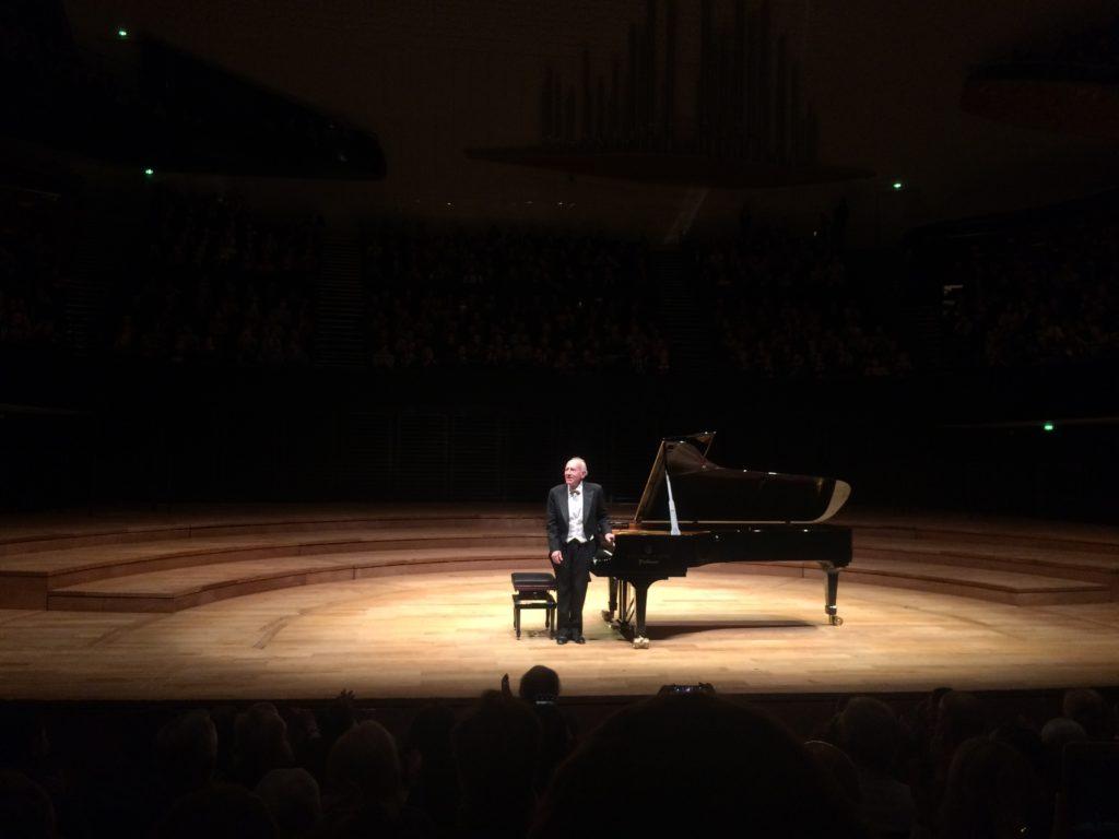 L'envoûtant Maurizio Pollini à la Philharmonie