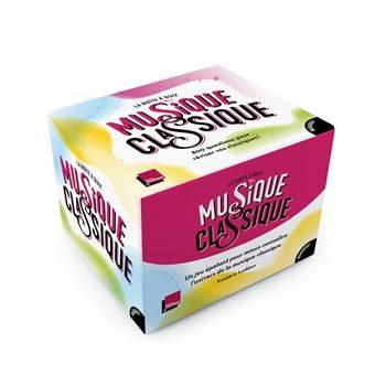 La boîte à quiz Musique Classique : 1001 questions et défis pour tout connaître en musique classique !