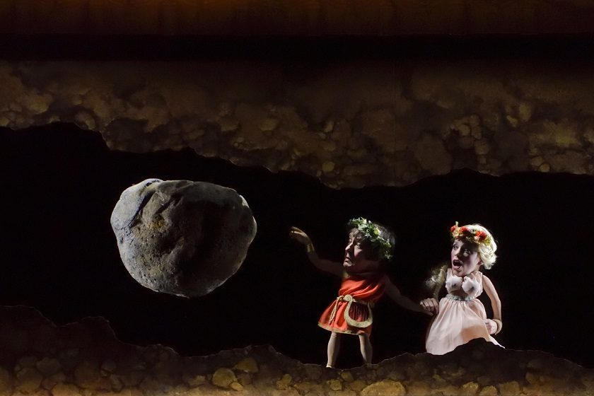 Petite balade aux enfers : un initiation à l'opéra avec Orphée, marionnettes et Gluck à l'Opéra Comique