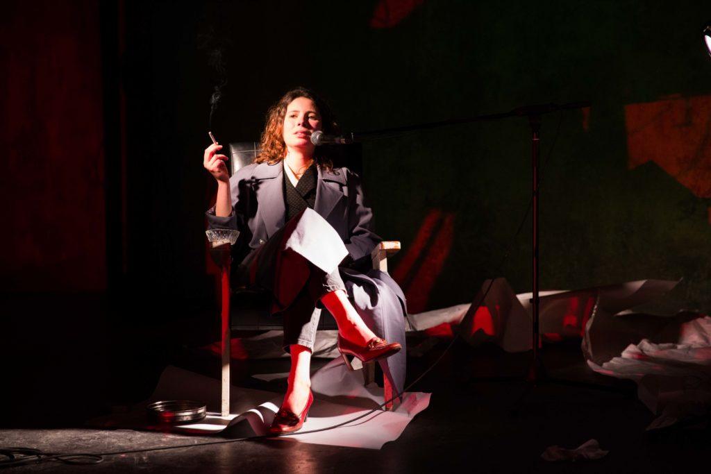 Susan Sontag dans une apparition posthume au Théâtre/Studio de Alfortville