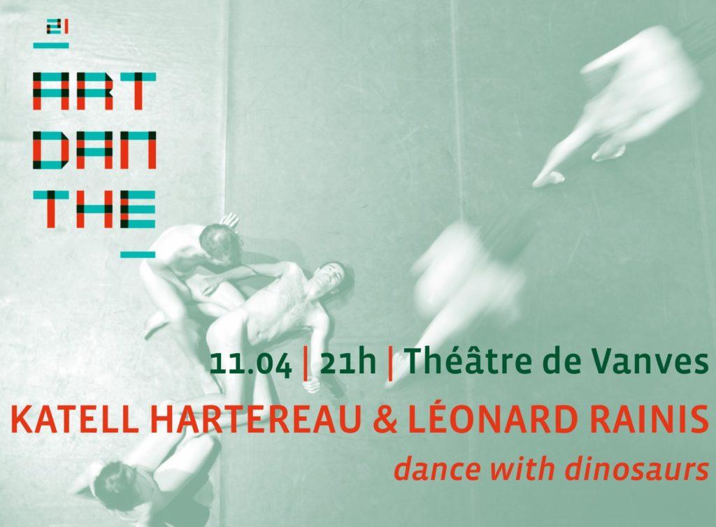 Gagnez 5×2 places pour dance with dinosaurs de Katell Hartereau & Léonard Rainis
