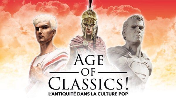 Age of classics : d'Hésiode aux jeux vidéos au Musée Saint-Raymond [Toulouse]