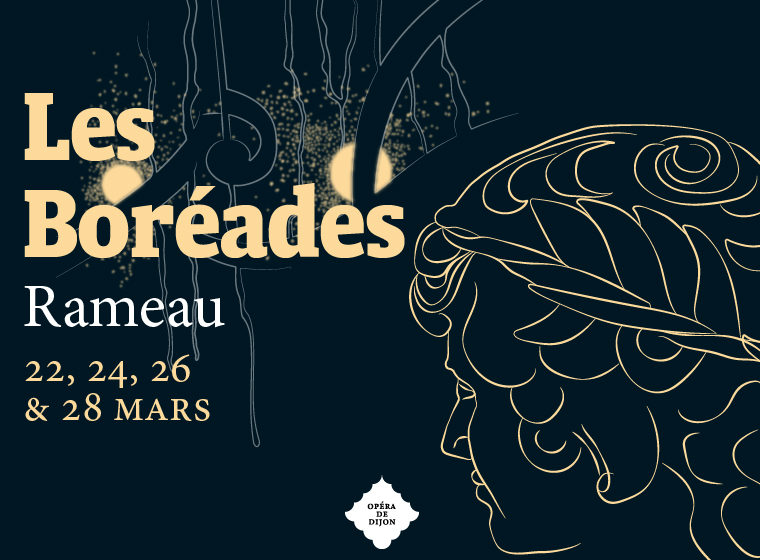 Gagnez 2 places en seconde catégorie l'opéra Les Boréades à l'Auditorium de l'Opéra de Dijon