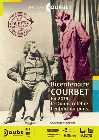 Marie-Marthe FAUVEL nous parle des célébrations dans le Doubs du Bicentenaire Courbet