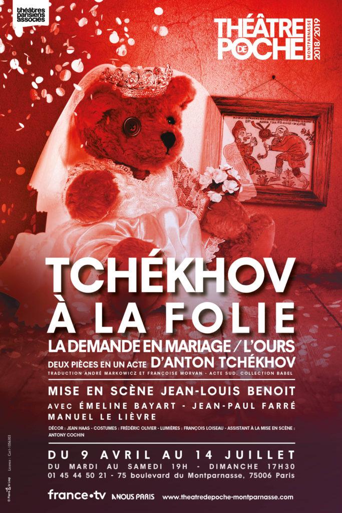 Deux Tchekhov bidonnants au Poche Montparnasse par Jean-Louis Benoit