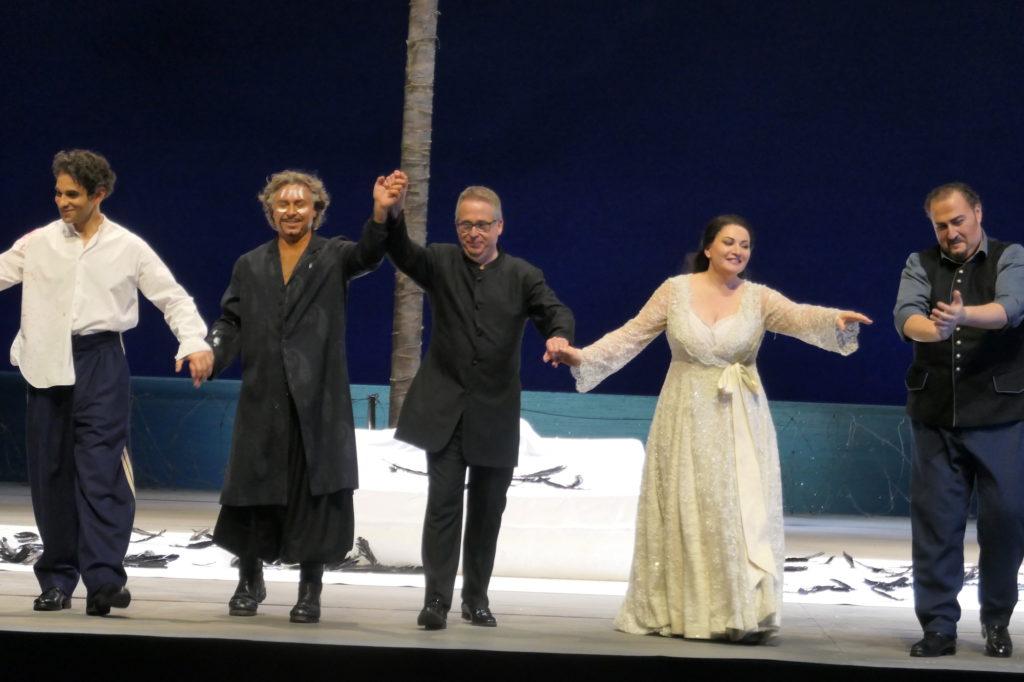 Otello, acte II à l'Opéra de Paris