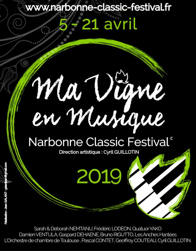 Questions à Cyril Guillotin, directeur artistique et fondateur de Ma Vigne en Musique – Narbonne Classic Festival